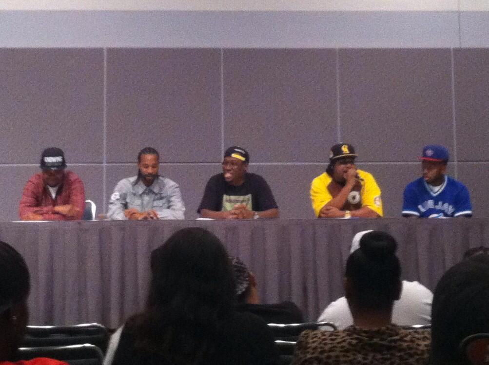 #HipHop101 panel (photo: Urban Girl Media)