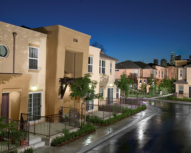 Aliso Village after redevelopment and becoming Pueble del Sol.