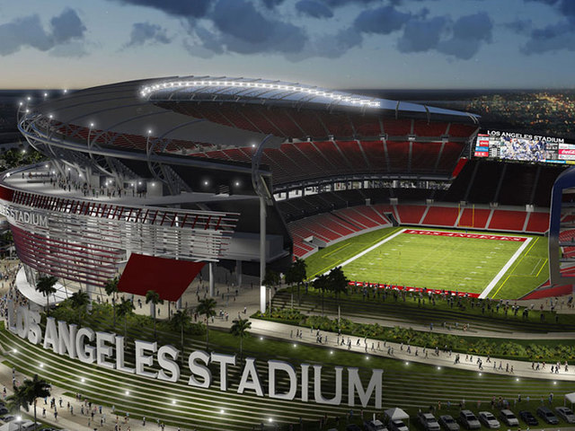 Proposed Los Angeles Stadium in Carson, CA.