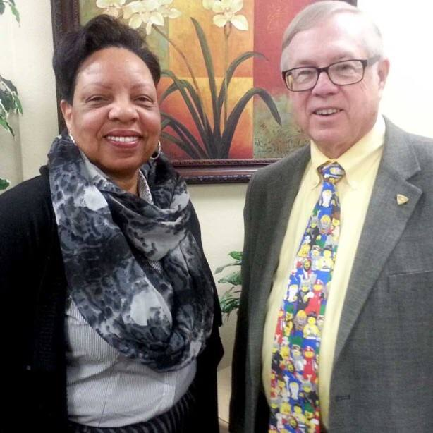 Margaret Evans, Advisory Board Seat #4 and State Trustee Dr. Don Brann