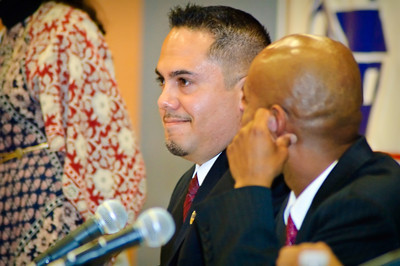 City Council Candidates from Hawthorne, CA participate in a forum held at Dana Middle School (photo: Studio Mio Photography)