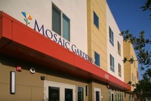 Mosaic Gardens at Huntington Park is home to low-income families and transition-age youths.