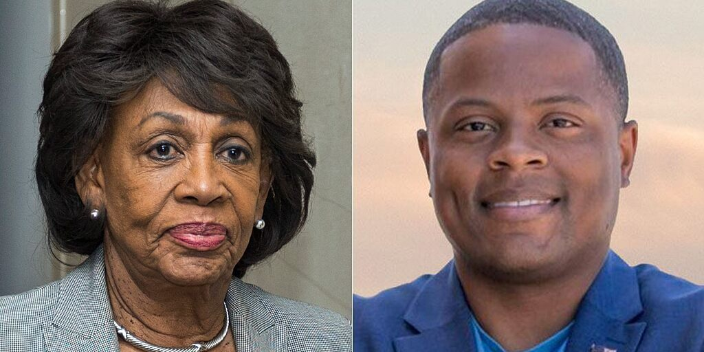 maxine-waters-joe-collins-AP-Joe-Collins-Campaign