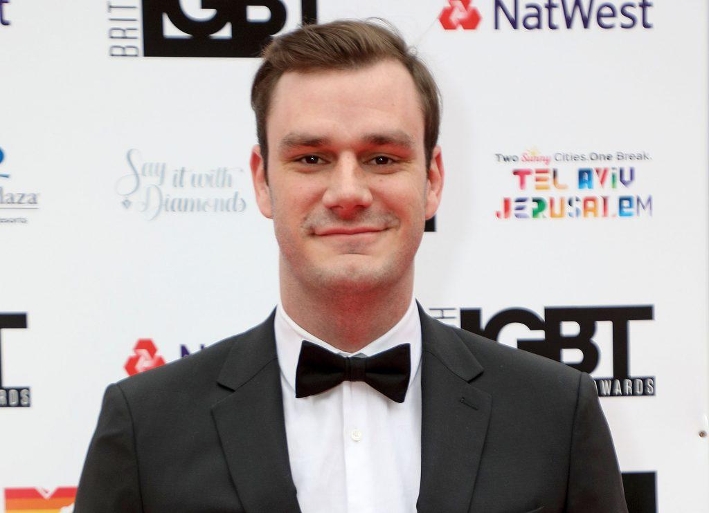Mandatory Credit: Photo by James Shaw/Shutterstock (9668850av) Cooper Hefner British LGBT Awards, London, UK - 11 May 2018